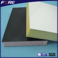 Chalking/Yellowish resistant exterior wall siding embossed Gel coat High glossy FRP sandwich panel sheet per price