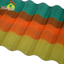 High quality UV coated 100% raw lexan colored polycarbonate plasti corrugated roofing sheet price