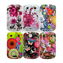 Flower Butteryfly Hard and Soft Mobile Phone Case Cover for Blackberry Bold 9900 9930