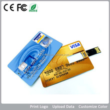 Bulk logo card usb flash drive 1gb 2gb 4gb 8gb 16gb 32gb 64gb