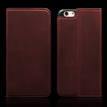 Phone Accessories mobile Business Bags Phone Case, Wallet Leather Case Wine Red for Iphone 7 Case