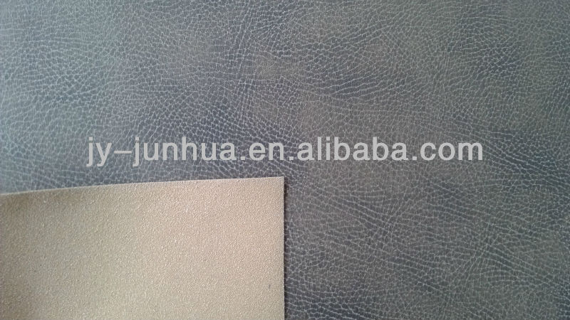 imitation leather synthetic genuine leather for sofa upholstery