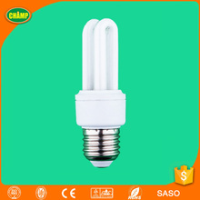 2017 ningbo ISO UL CE LVD EMC RoHS SASO approved E27 15W fluorescent light bulb energy saving lamps circuit