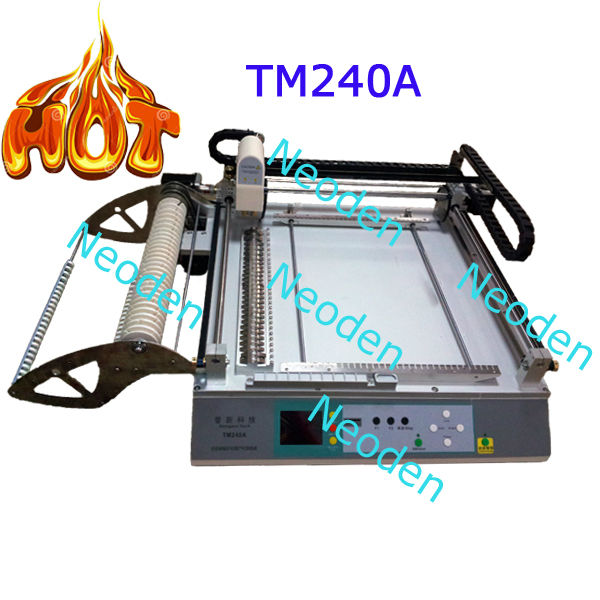 *manufacturer supply pick and place machine for small SMT production line TM240A high accuracy,easy operation