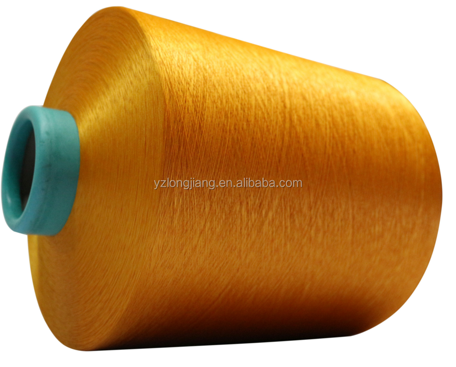 100%Polyester DTY yarn use for webbing tapes made in china