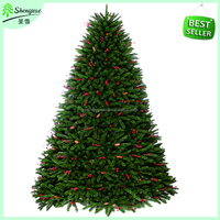 2016 hot selling PVC artificial christmas tree with new design
