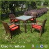 Terrace Rattan Table And Chairs