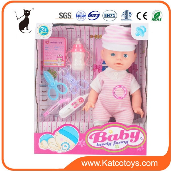 Most popular baby dolls mini vinyle doll with accessories for kids