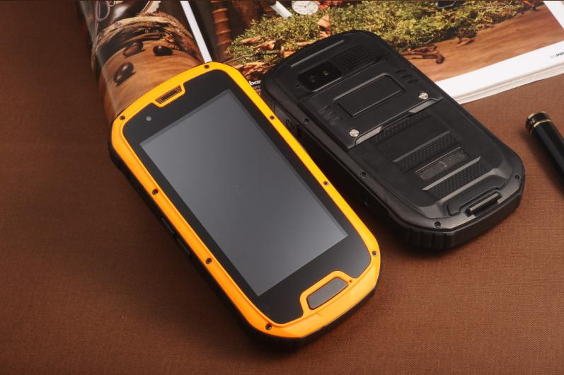 Pass CE IP68 rugged phone Dustproof S09 walkie talkie GPS NFC Quad Core MTK6589W best rugged mobile phone india