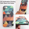 Professionally Mobile Phone Case Manufacturer Supply 3D Sublimation for iphone mobile phone cover printing