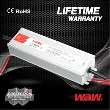 48v 4.17a 200w constant voltage waterproof IP67 LED driver LED power supply for LED strips,display with CE,ROHS approved