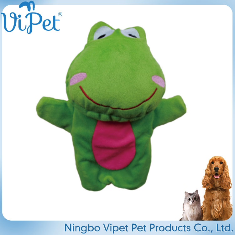 new design funny animal cartoon plush toy animals,green frog dog toy