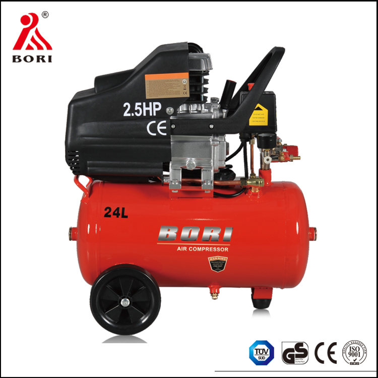Factory best price 24L 2.5HP direct driven portable air compressor