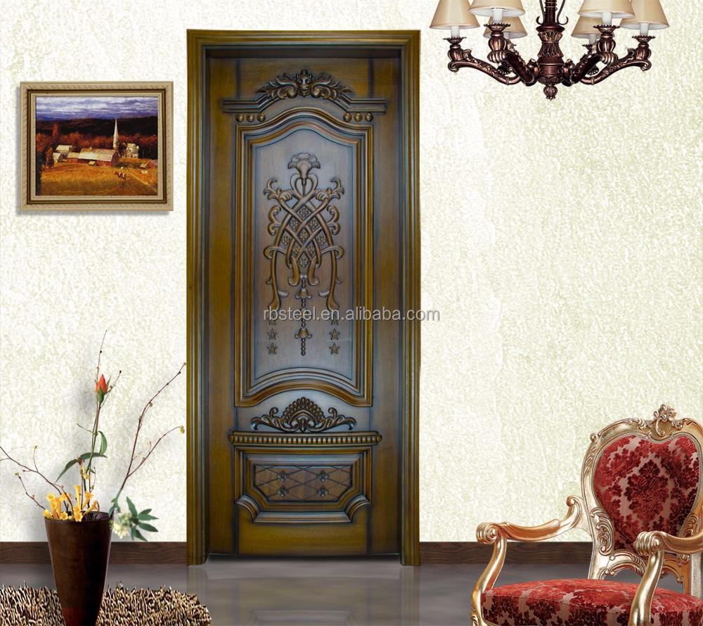 2015 new design luxury interior bedroom wood door price for New door design 2015