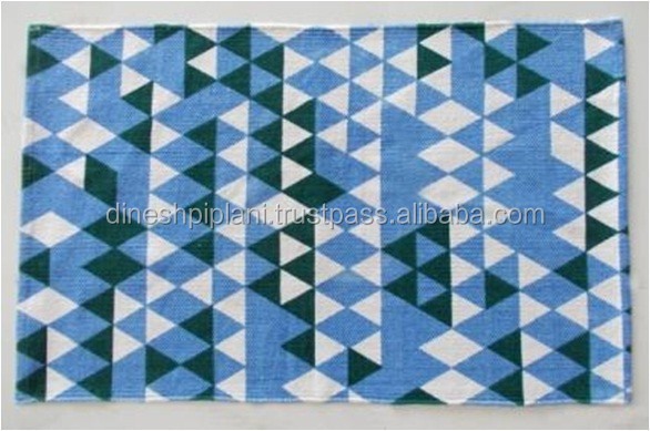 cheap bulk wholesale printed cotton rugs manufacturer