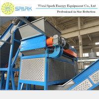 2015 Hot Sale Scrap Tire Shredder Used in Waste Tyre Rubber Recycling Plants
