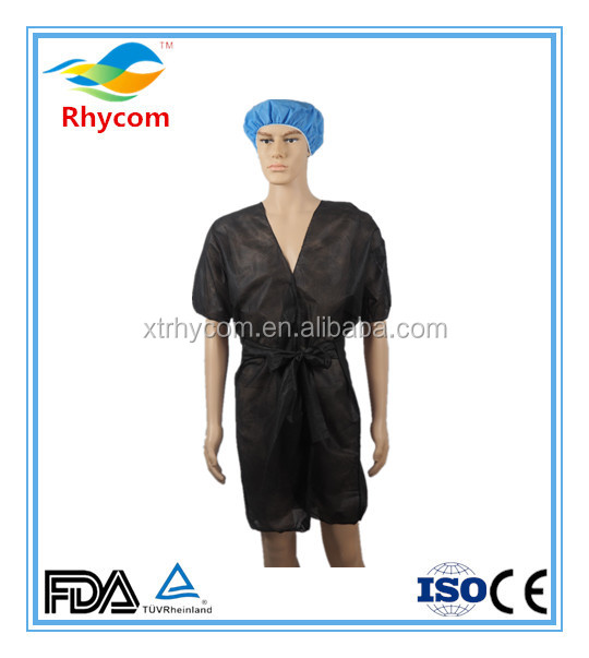 Best selling alibaba cosmetics products medical non woven kimono