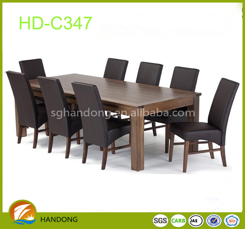 New Designed Home Furniture Cheap Exotic Wood Folding Dining Tables