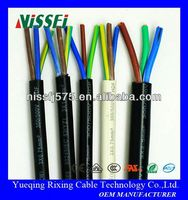 China Manufacturers Manufacture Heat Resistant Silicone Rubber CableCopper Wire