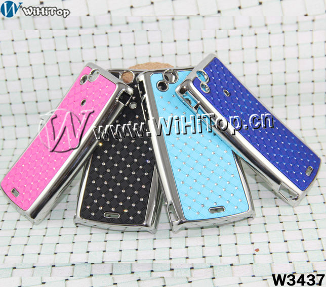 Luxury Bling Diamond Crystal Star Hard Back Case Cover for Sony Ericsson Xperia arc X12 LT15i LT18i