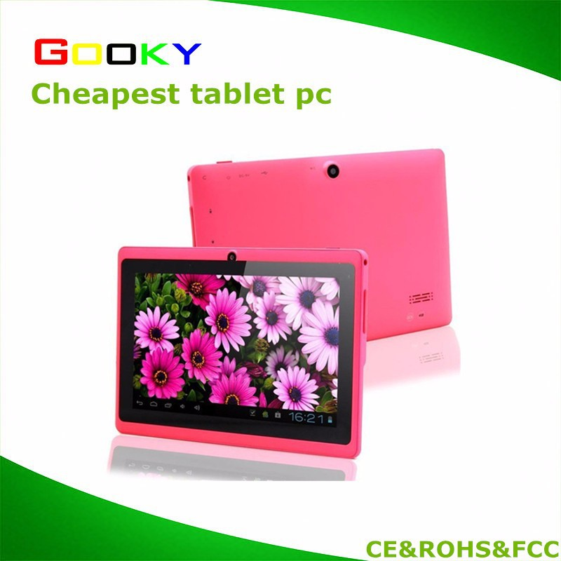 NEW 7inch Quad Core tablet pc Q88 OTG Dual Cameras Android 4.4 ebook wifi