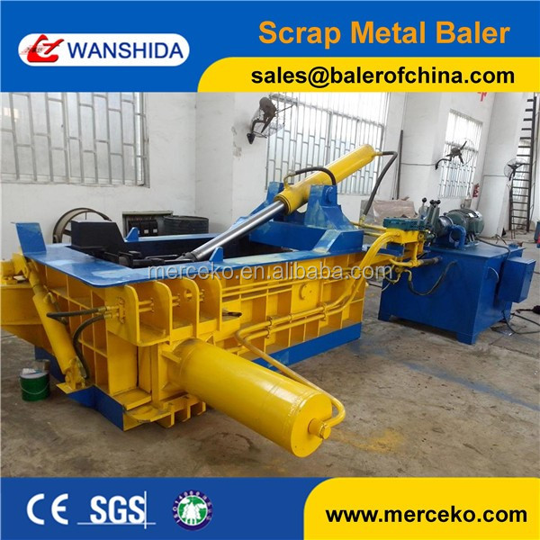 Hydraulic Metal Press Machine Non Ferrous Scrap Baling Press