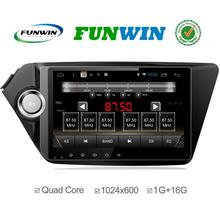 Factory price quad core Android 4.4 car stereo for Kia K2 2010 2011 built in wifi