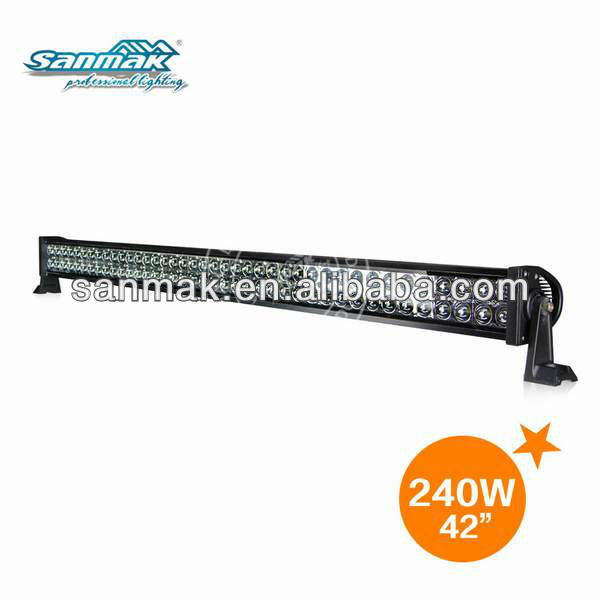 15000 lumen super bright offroad ttruch led work light pop pop boats led light bar sm6021-240