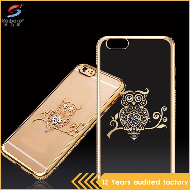 Fast delivery low moq anti-scratch for iphone 6 case transparent bumper