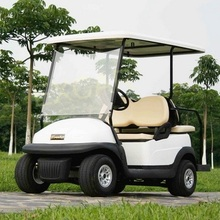 solar powered electric vehicle golf cart with 4 seats or 2+2 seats