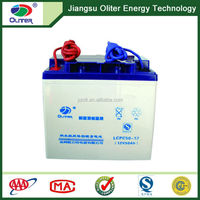 Wholesale price!Solar dry cell battery 12V 50AH for solar system