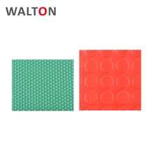 Eco-friendly durable Coin Pattern pvc floor 1 inch thick rubber mat