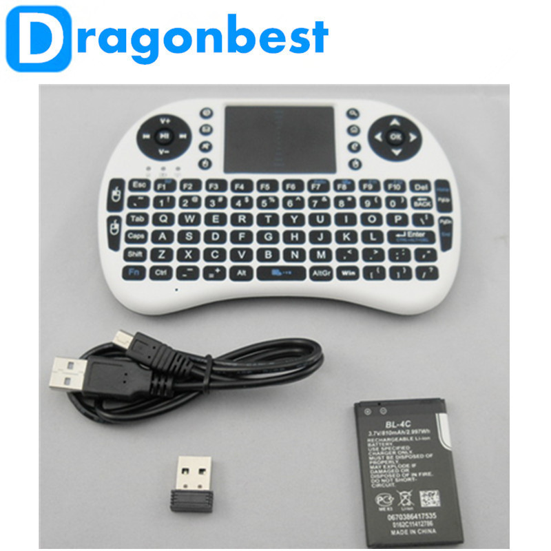 High Quality Mini Wireless Fly Air Mouse I8 keyboard air mouse remote