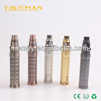 electronic cigarette big battery Embossed Design Colored Etched ego vapor k battery