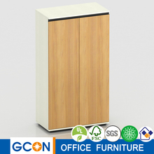 Office wooden storage filling cabinet book shelf with drawer
