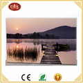 light up led canvas painting Landscape printed canvas picture with led light