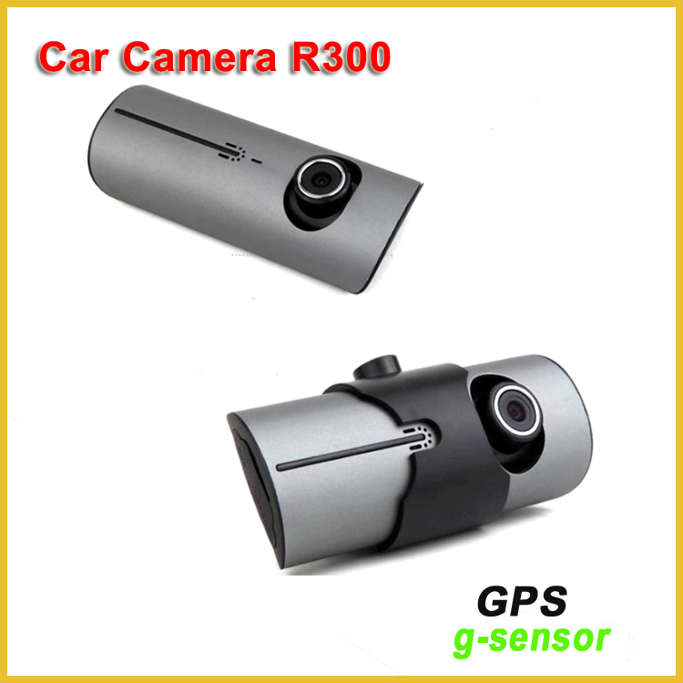 "Hot sale yi camera dash cam with gps have 2.7""screen lcd R300 dual dash cam"
