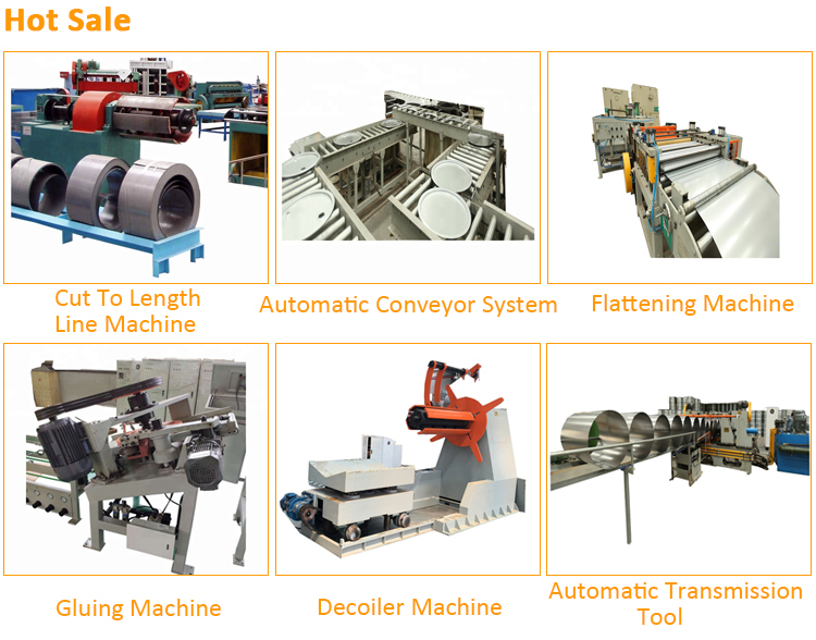 200L &210L Steel barrel Automatic Coil loading machine for steel drum production line
