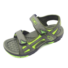 high quality custom sport beach pu men sandals
