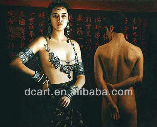 High quality beautiful nude china girls chinese style