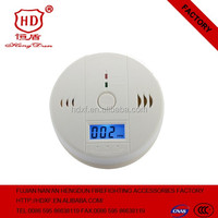 2017 High quality Home Safe Security battery powered LCD display Carbon Monoxide Alarm/CO Detector