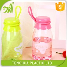 Food Grade Clear And New Product 350ml Plastic Bottle For Packaging Milk Juice