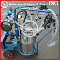 vacuum pump portable cow milker