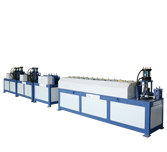 machine/duct line/air duct machine---angle steel flange automatic production line