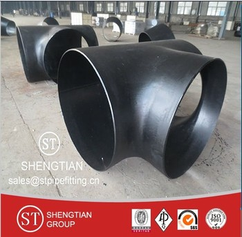 ASTM A234 WPB carbon steel equal tee