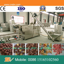 Automatic Kellogg's Nestle professional nutritional cereals corn flakes making extruder machine south africa