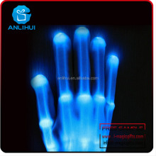 Fashion Multi-Color Electro LED Flashing Gloves Light Up Halloween Dance Party