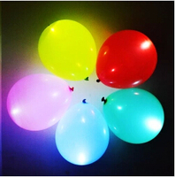 Wholesale cheap inflatable led light balloon,12inch Promotional ballons,Advertising ballon