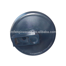 Factory machined durable excavator front idler parts