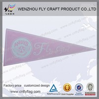 Custom felt triangle string flag For Promotion